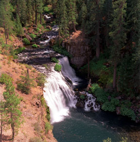 Middle Falls of the McCloud River
