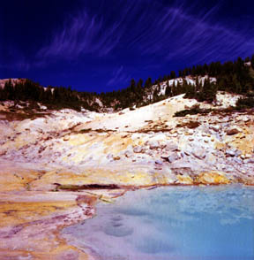 West Pyrite Pool, Bumpass Hell Trail