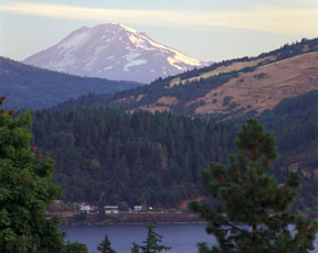 Mount Adams and the Columbia River