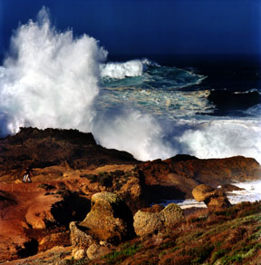 High Surf at Point Lobos