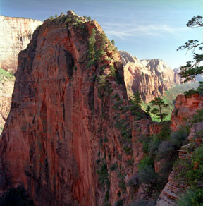 Angel's Landing, North Wall