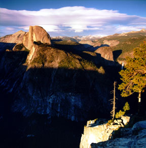 Half Dome and Lenticular Clouds