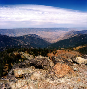 Hells Canyon from Heavens Gate
