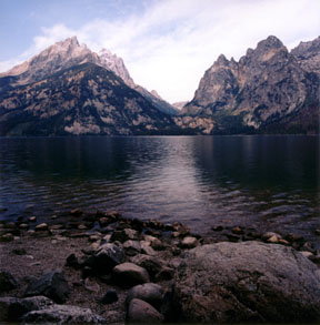 Jenny Lake and Cascade Canyon