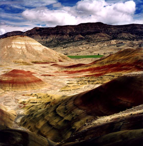 Painted Hills East View