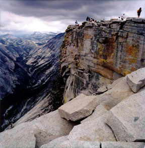 Half Dome Summit View
