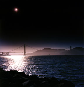 Solar Eclipse from Crissy Field