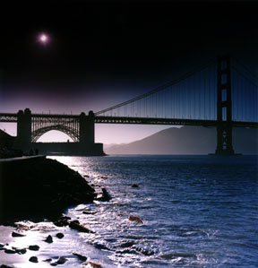 Solar Eclipse over the Golden Gate