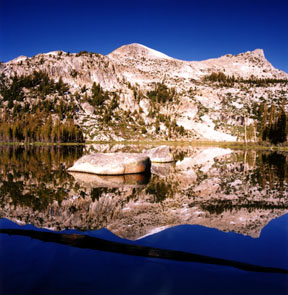 Elizabeth Lake Reflection