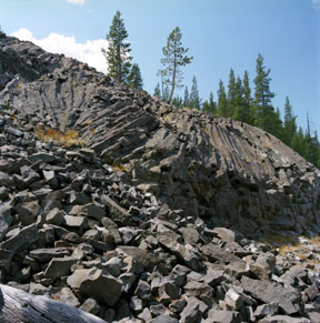Little Devils Postpile