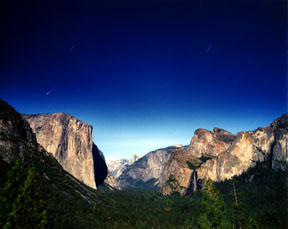Leonid Meteor over Yosemite