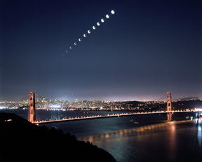 Lunar Eclipse - Time Lapse Sequence