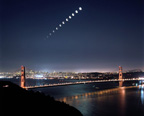 Lunar Eclipse over the Golden Gate