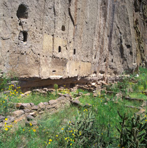 Long House Cliff Dwelling, Bandelier National Monument