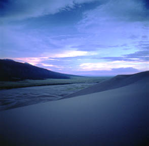 Great Sand Dunes Twilight