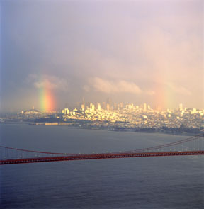Golden Gate and Double Rainbow