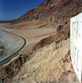 Sea Level at Badwater