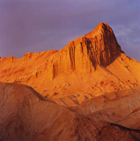 Manly Beacon, Golden Canyon, Death Valley National Park, California